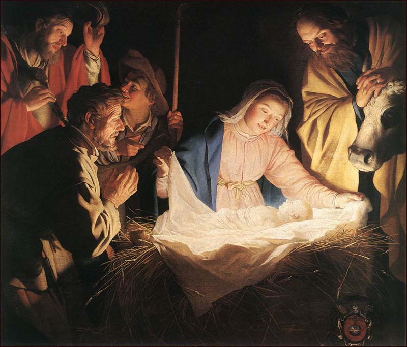 The manger's baby…the King