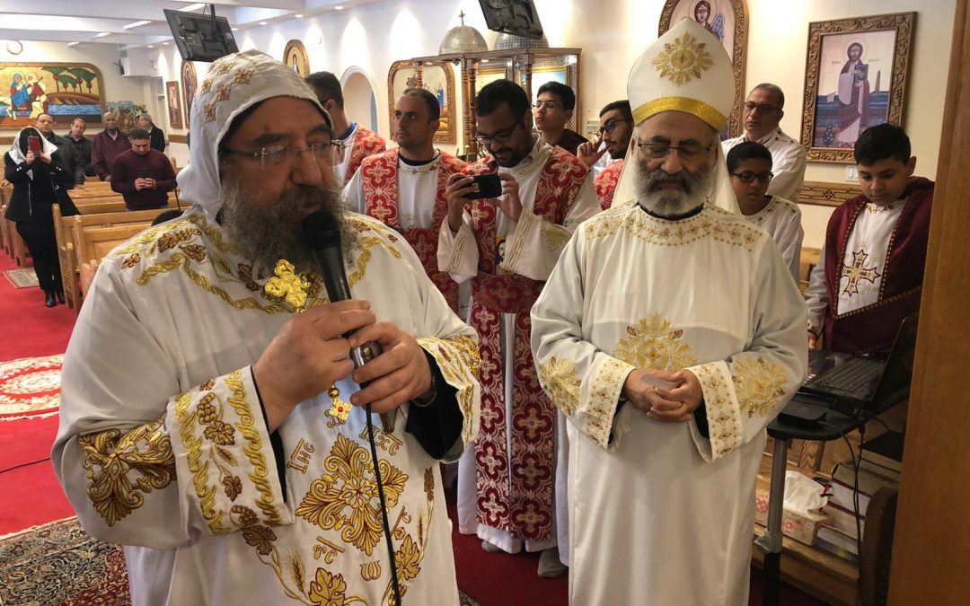 H.G Bishop Mina's visit 8th February 2020 (Photo Gallery)